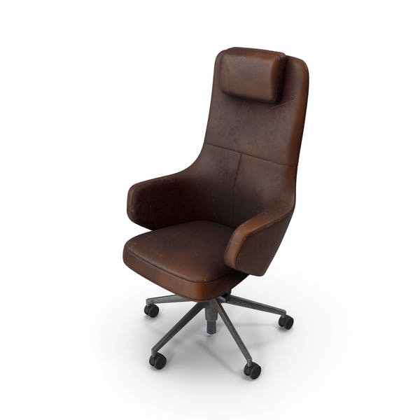 Thumbnail for Office Chair Damaged Brown