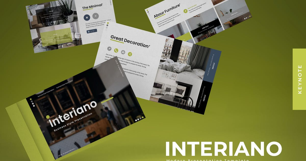 Download Interiano  - Keynote Template by karkunstudio