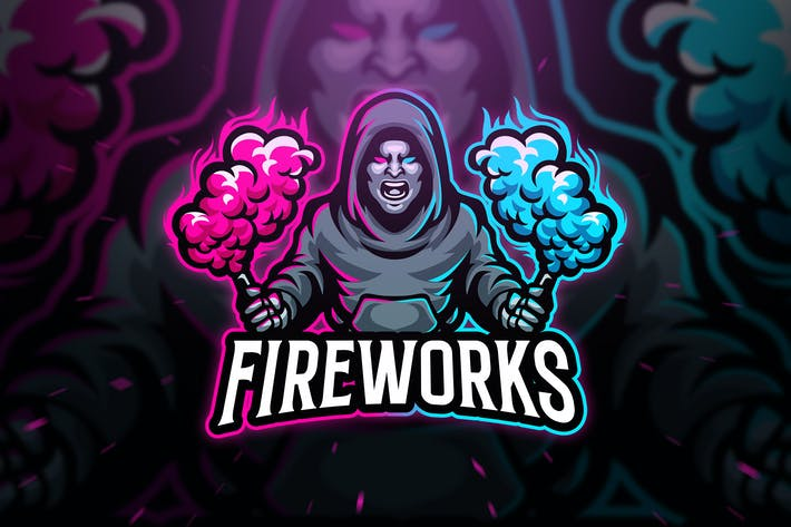 Thumbnail for Fireworks Sport and Esport Logo Template