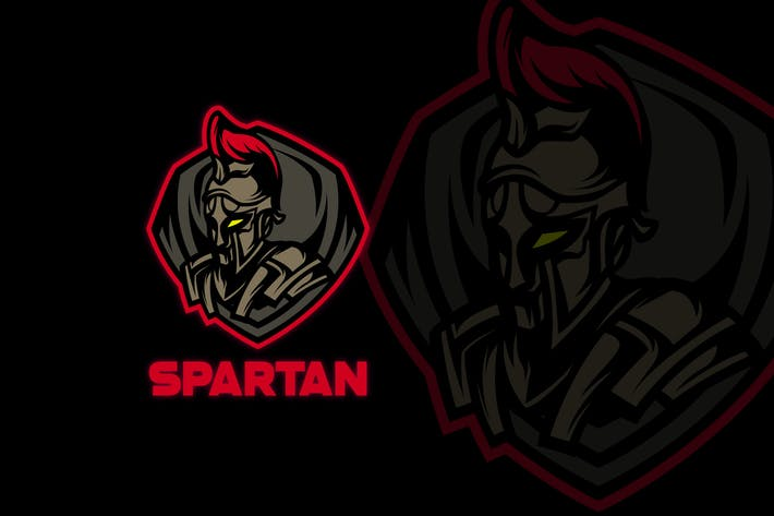 Thumbnail for SPARTAN MASCOT LOGO TEMPLATE