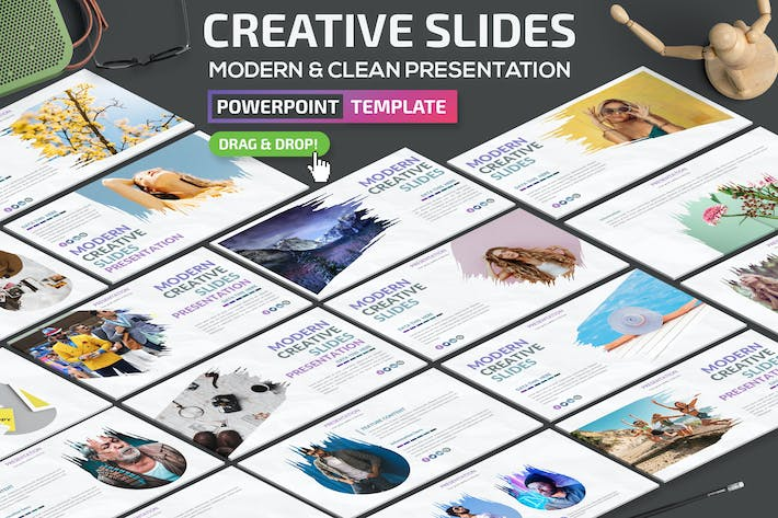 Thumbnail for Creative Slides Powerpoint Template