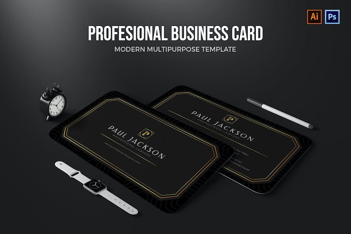 Profesional Lawyers - Business Card