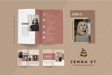 Jenna St - Fashion Lookbook Magazine