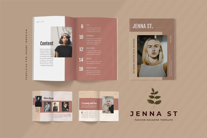 Thumbnail for Jenna St - Fashion Lookbook Magazine