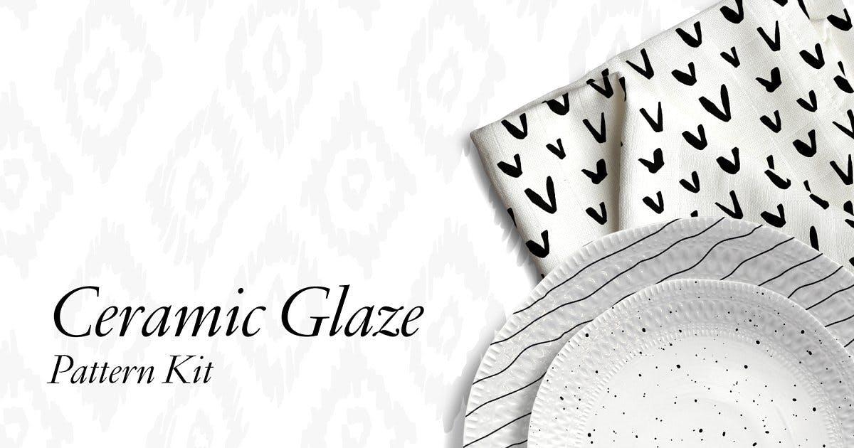 Download Ceramic Glaze Pattern Kit by thinkmake