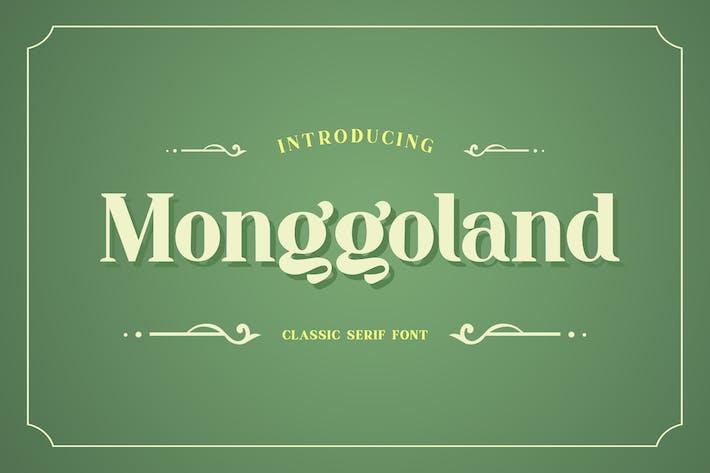Thumbnail for Monggoland Elegant Serif Font