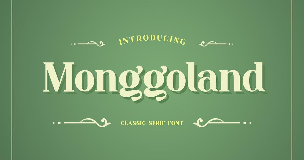 Download Monggoland Elegant Serif Font by uicreativenet