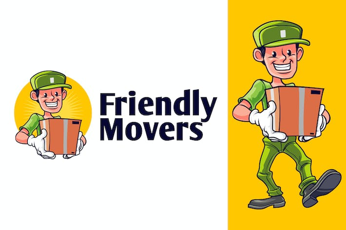 Thumbnail for Friendly Mover - Moving and Storage Service Logo