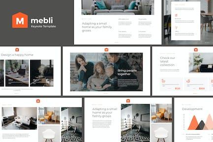 MEBLI - Simple & Elegant Keynote Template