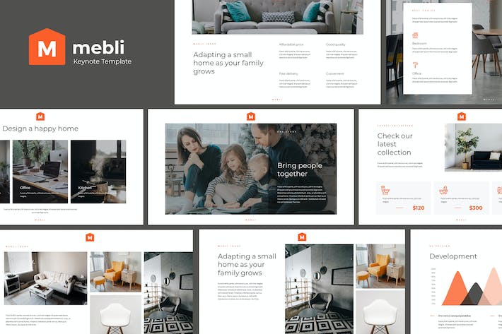 MEBLI - Simple & Elegant Keynote Template