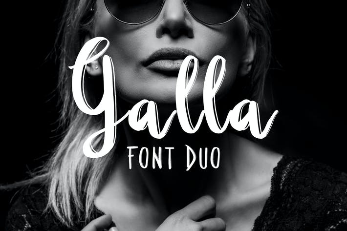Thumbnail for Galla Duo Font