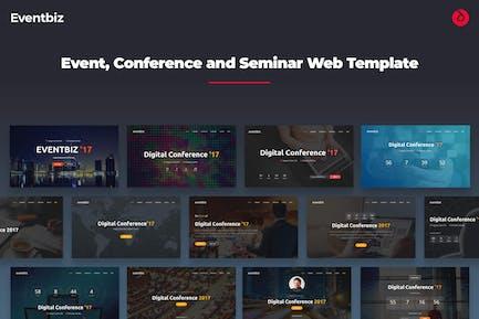 Eventbiz - Onepage Event, Konferenz und Meetup