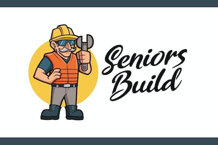 Thumbnail for Логотип старшего талисмана Builder