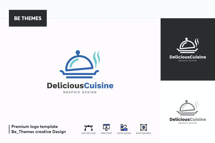 Thumbnail for Deliciouse Cuisine Logo Template