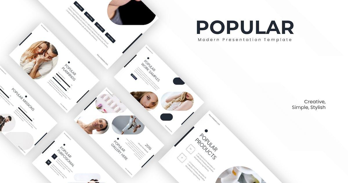 Download Popular - Powerpoint Template by karkunstudio