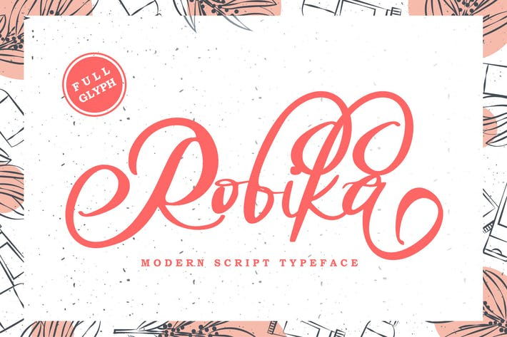 Thumbnail for Robika Modern Script
