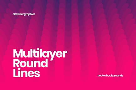 Multilayer Round Lines Backgrounds