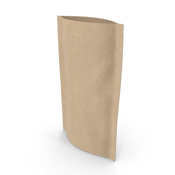 Zipper Paper Bag 150g Open
