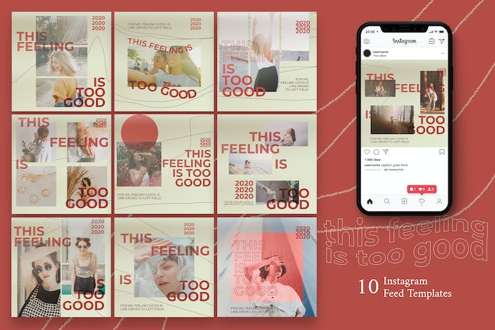 Cover Image For Fashion  Instagram Post Template