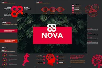 Шаблон Powerpoint NOVA