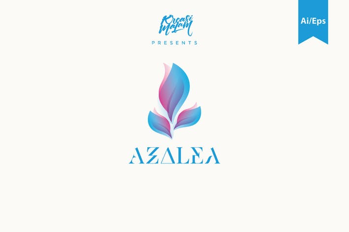 Thumbnail for Azalea Logo Template