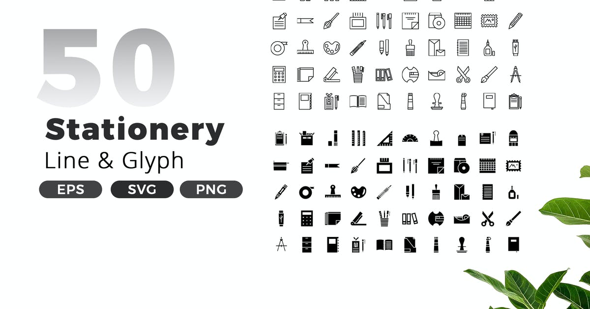 Download Stationery Icon Pack by jegtheme