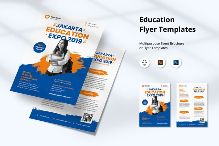 Thumbnail for Education Flyer Templates