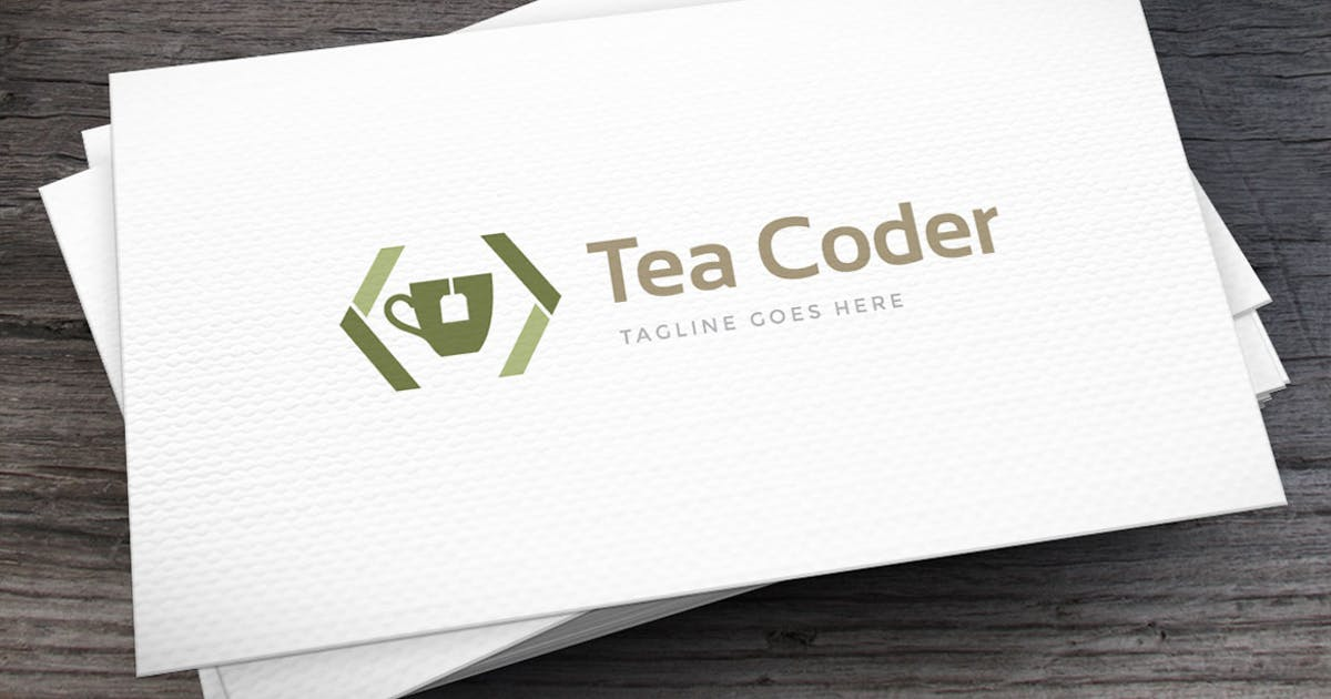 Download Tea Coder Logo Template by empativo