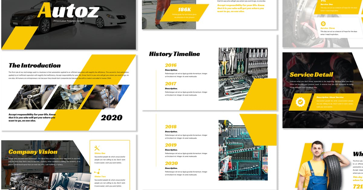 Download Autoz - Business Powerpoint Template by Blesstudio