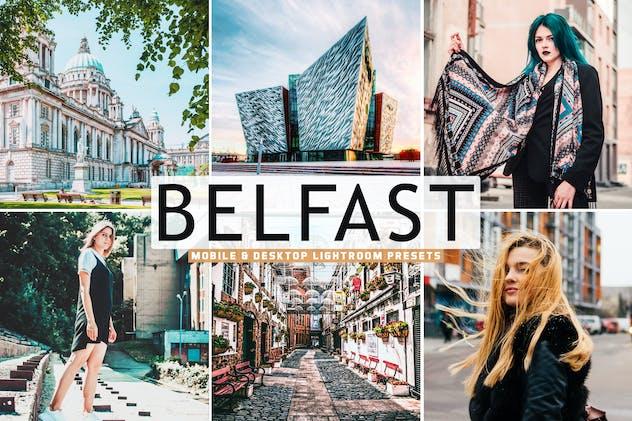 Belfast Mobile & Desktop Lightroom Presets - product preview 5