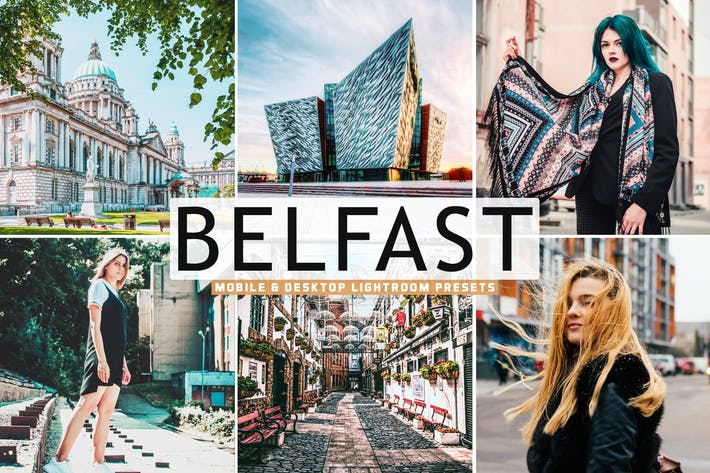 Thumbnail for Belfast Mobile & Desktop Lightroom Presets