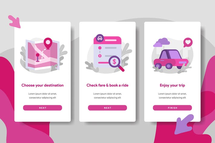 Thumbnail for Иллюстрация услуг онлайн транспорта