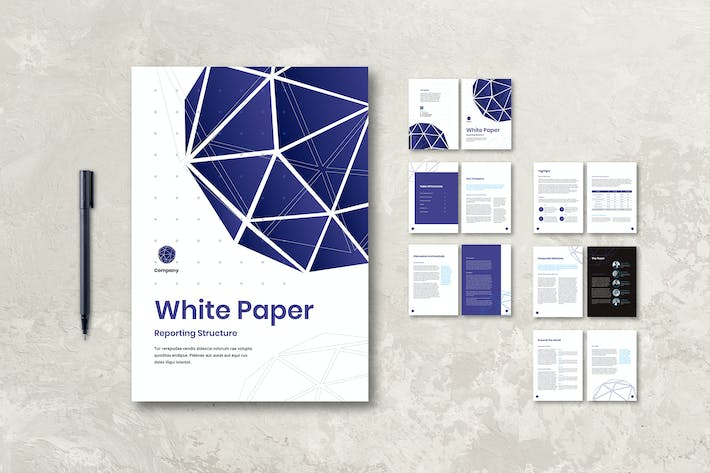Thumbnail for White Paper Reporting Paper