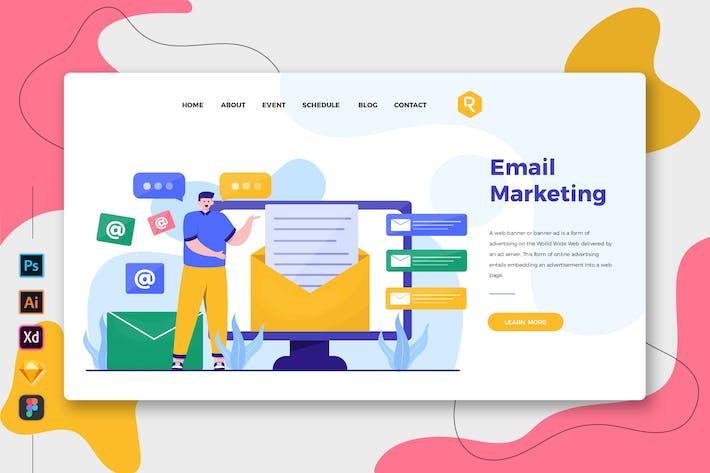 Thumbnail for E-mail Marketing - Page de destination Web et mobile