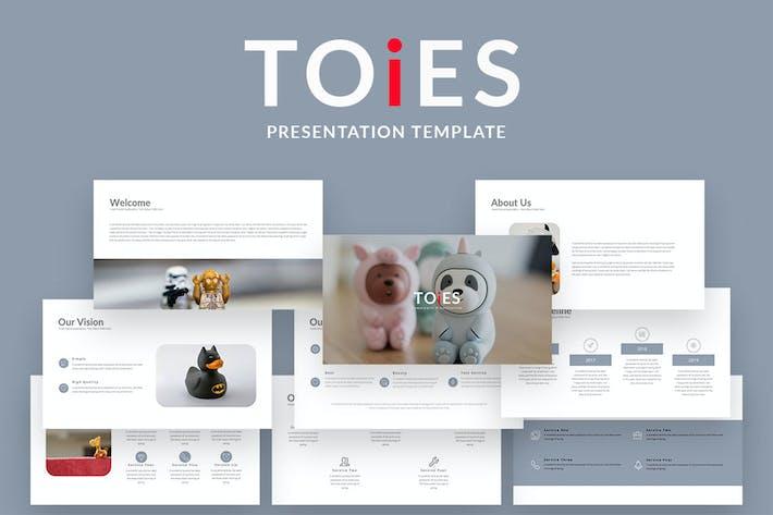 Thumbnail for TOiES — Шаблон креативного бизнес-Keynote