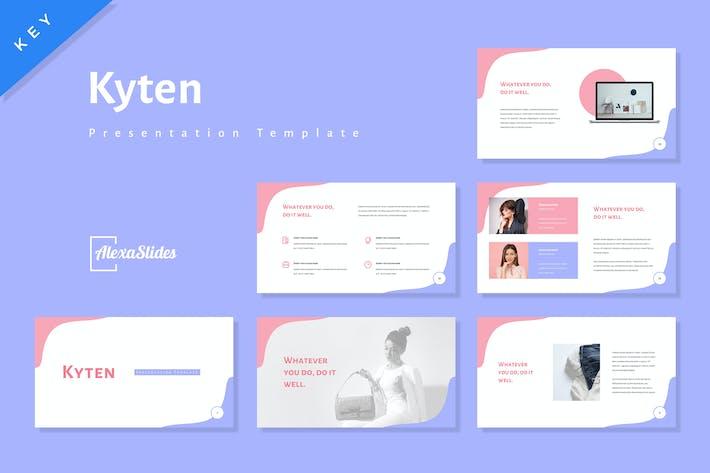 Thumbnail for Kyten - Мода Keynote Шаблон