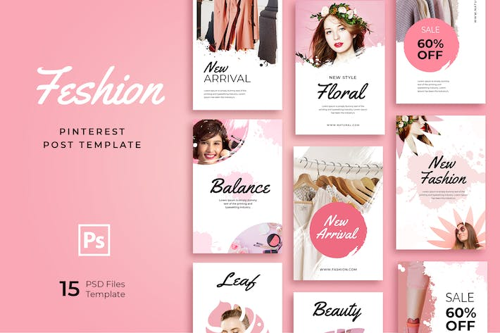 Thumbnail for Pinterest Shop Templates