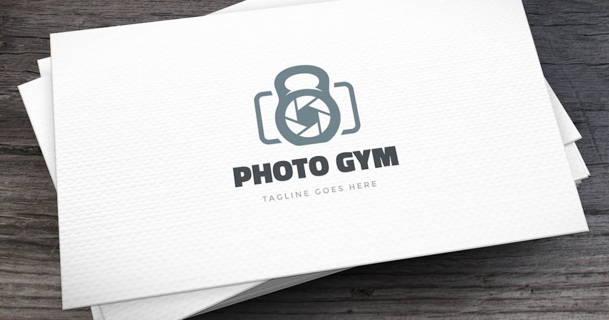 Download Photo Gym Logo Template by empativo