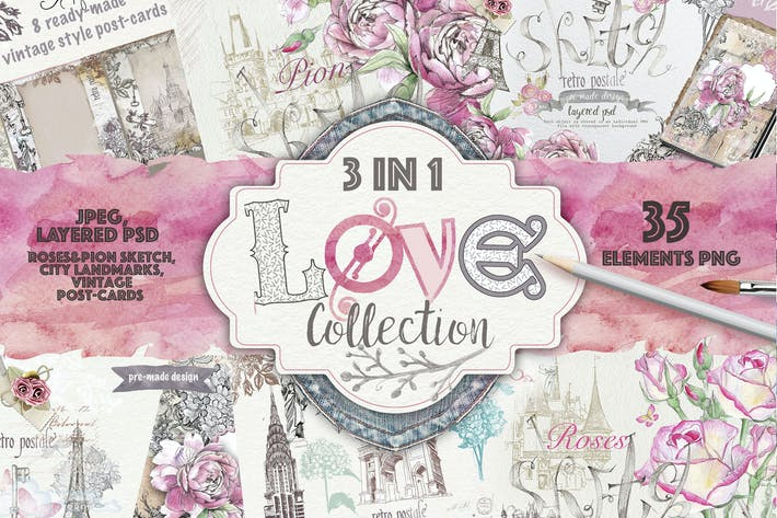 Thumbnail for Love collection 3 in 1