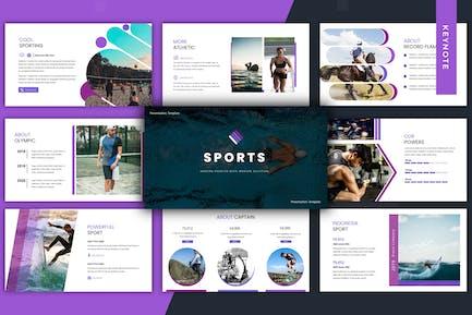 Sports - Keynote Template