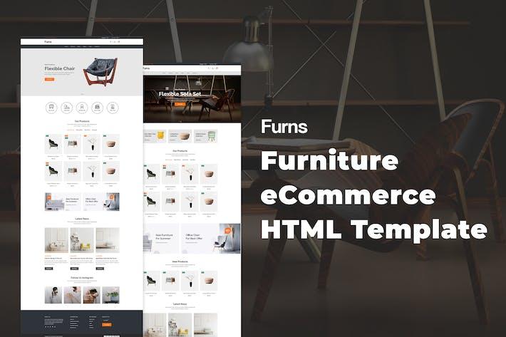 Thumbnail for Furns - Modèle HTML de meubles eCommerce