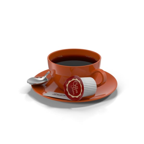 Thumbnail for Coffee Cup Red