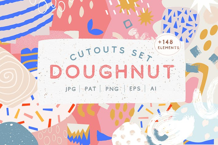 Thumbnail for Doughnut Cutouts Set