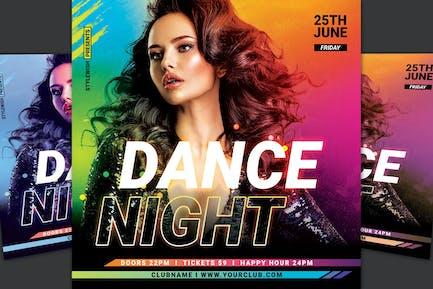 Dance Nuit dépliant