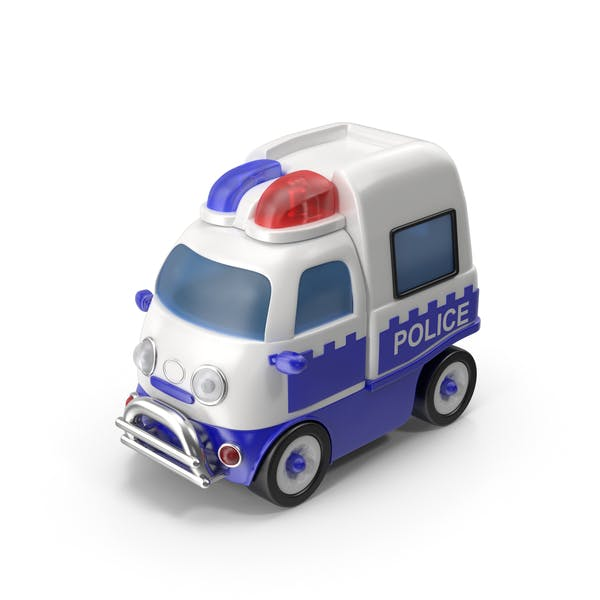 Cover Image for Toon Police Car