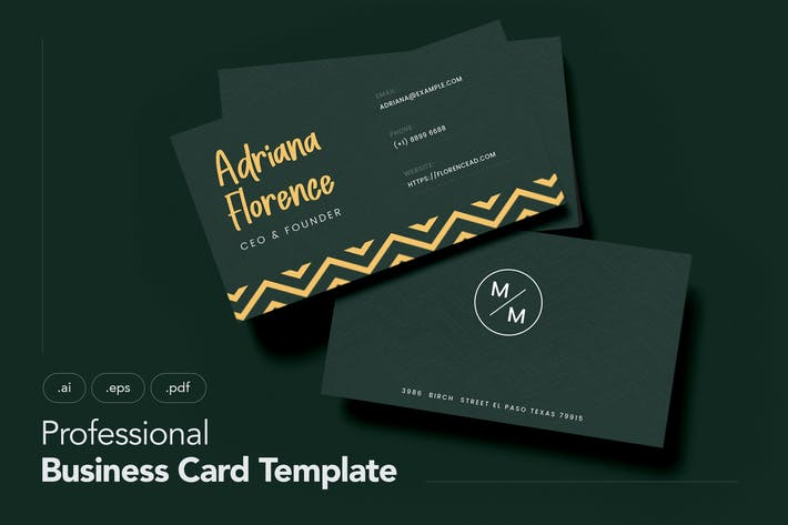 Thumbnail for Professional and Clean Business Card V.3