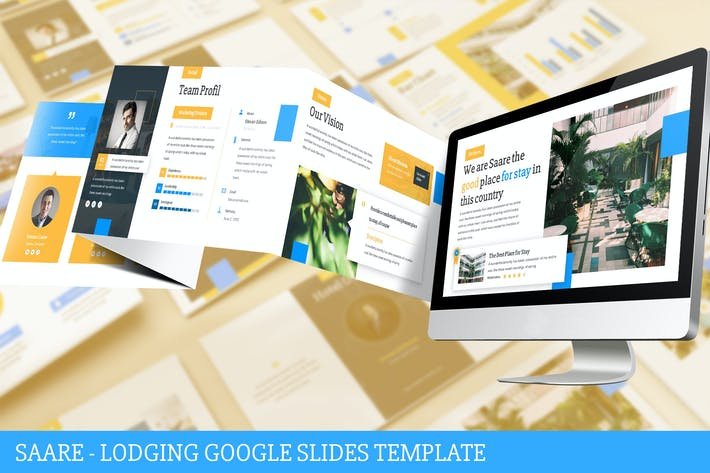 Thumbnail for Saare - Lodging Google Slides Template