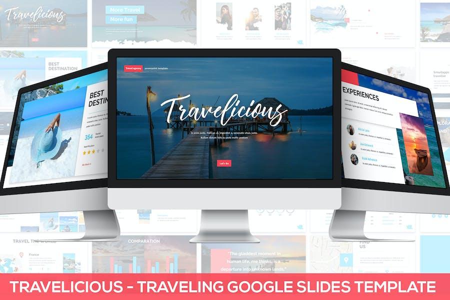 Travelicious - Google Slides Template