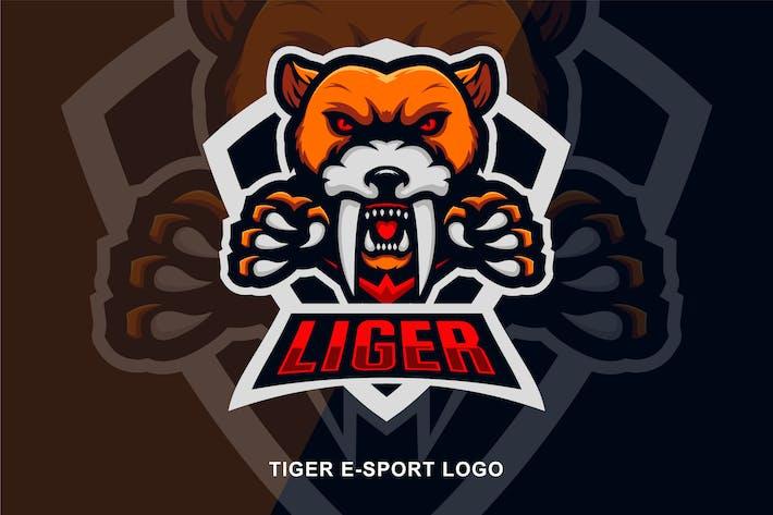 Thumbnail for Tiger E-Sport Logo