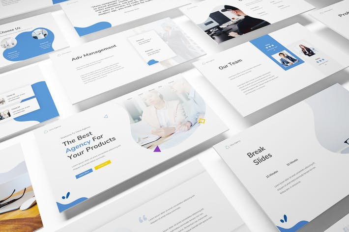 Thumbnail for Marketing Firm Powerpoint Template